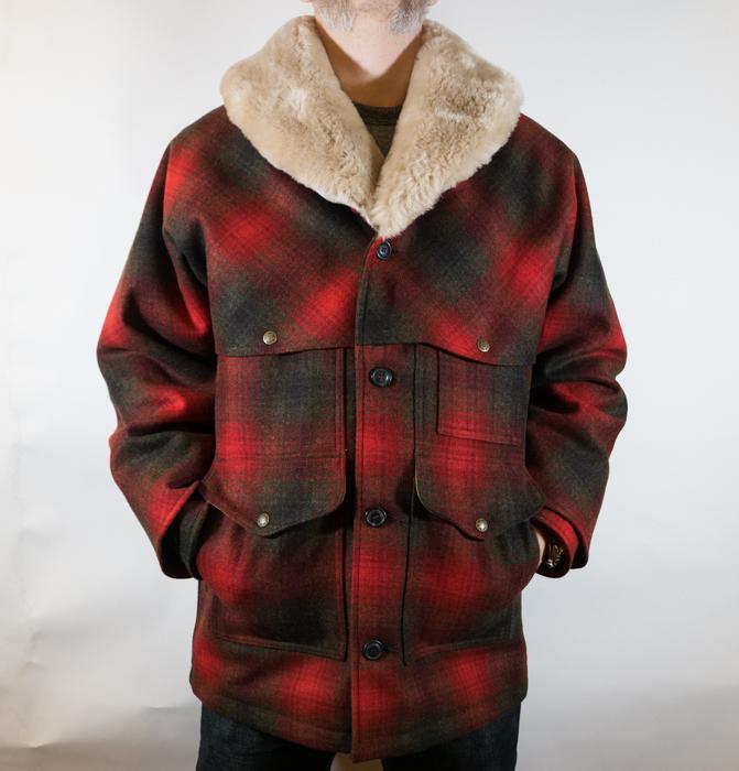 Packer Coat Lined Red/Green/Brown Check Men