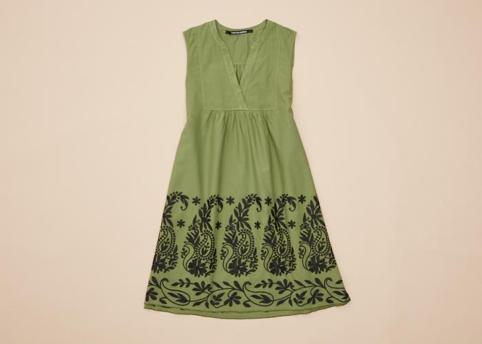 Maitai Dress Embroidered Cactus Women
