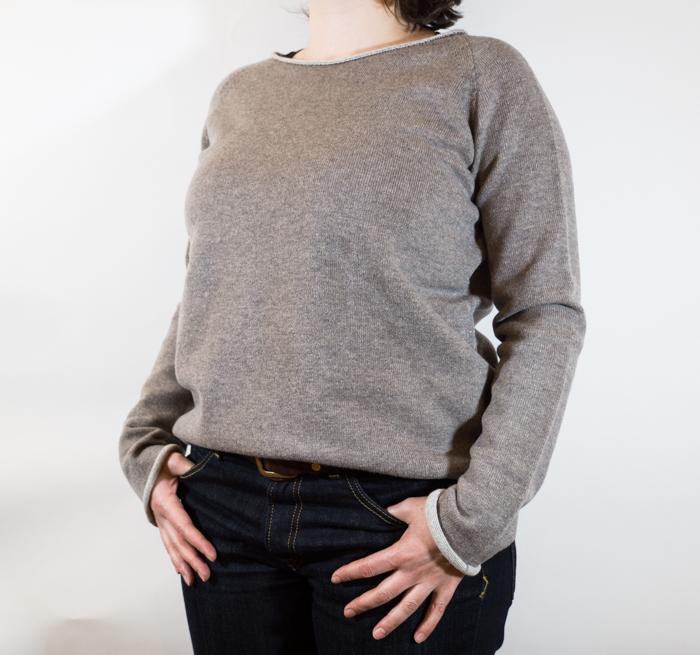 Roundneck Oversized Sweater Women