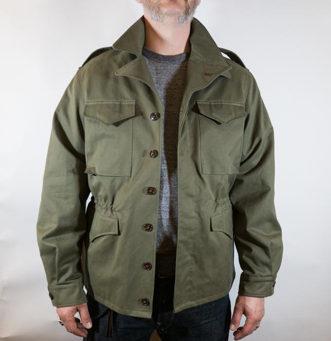 WWII M1943 Field Jacket Men - 0