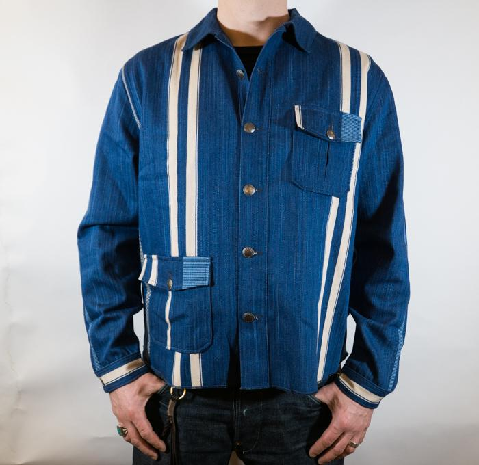 Conway Overshirt Stripe Selvage Men
