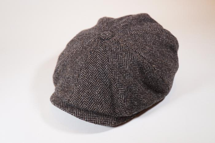 Hatteras Wool Herringbone Brown