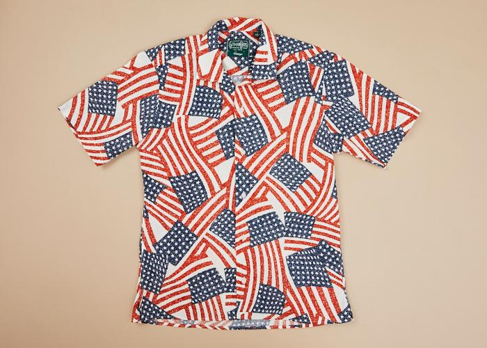 Vintage Sport Shirt USA Men