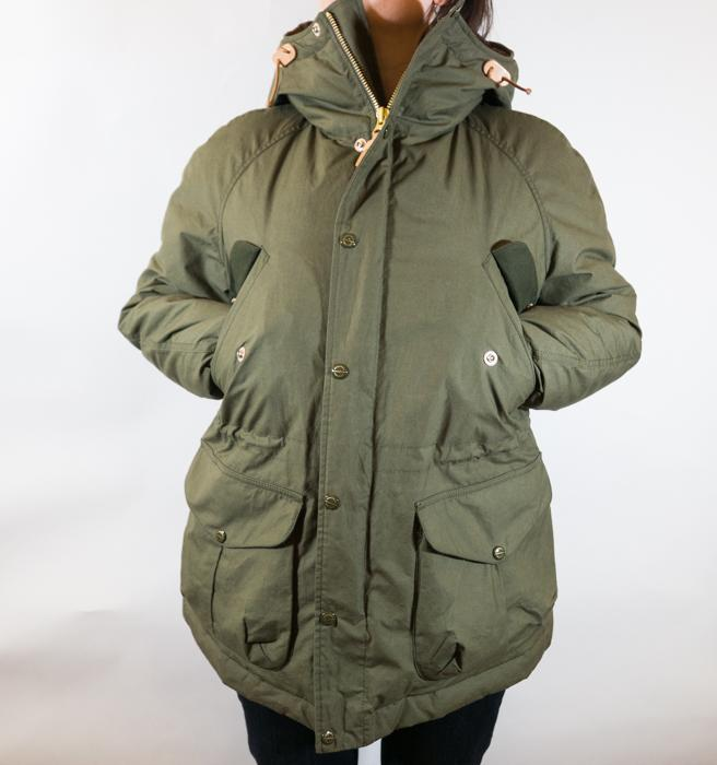 Fisherman Parka Down Cupro Women