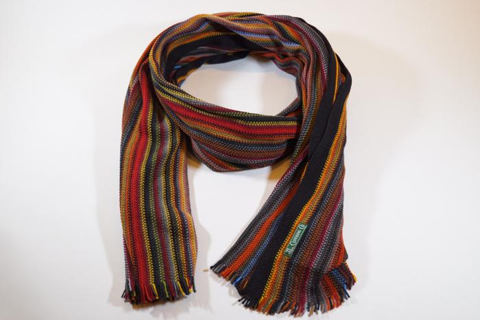 JL Scarf Knit Stripe Colorful