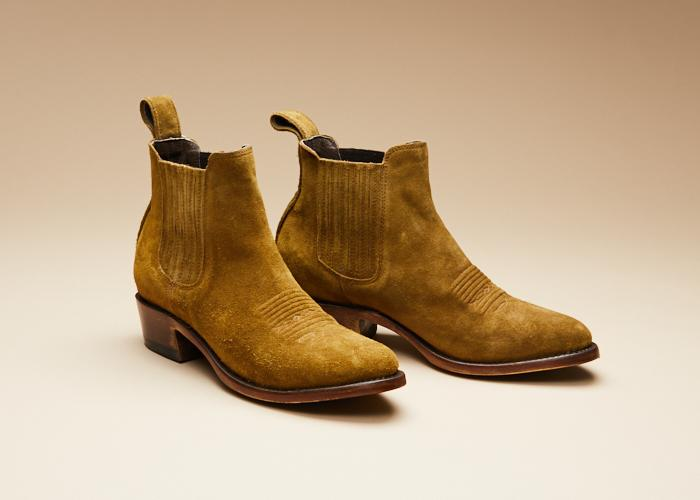 Estudio Bis New Camel Suede Women
