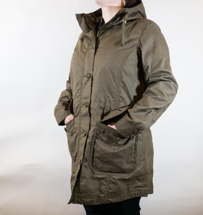 Field Parka Otter Green Women