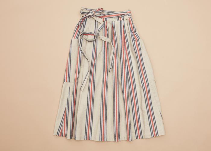 GoD Prairy Skirt Prisoner Stripe Women