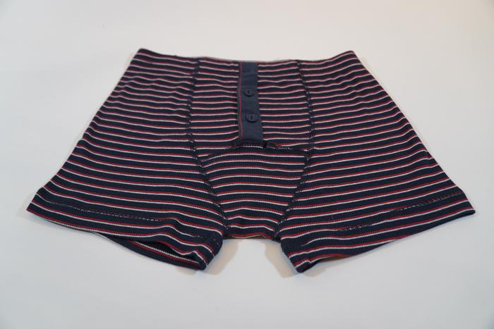 Boxer Albar Stripe Red/Nature