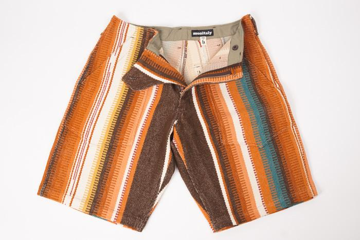 Fatigue Shorts Navajo Carpet Fabric Men