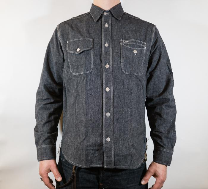 Lambert Shirt L/S Salt & Pepper Men
