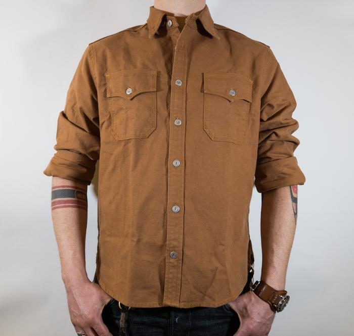 Scout Shirt L/S Tobacco Men