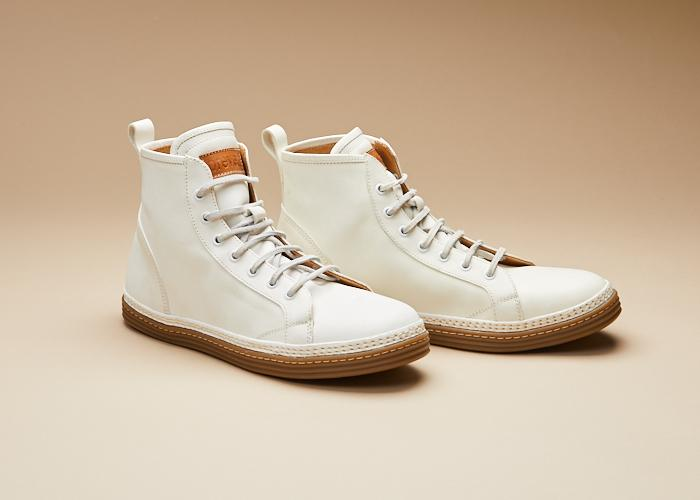 Morgan Cavallo Leather Sneaker Men