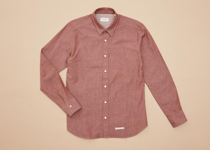 Western Light Denim Shirt L/S Men