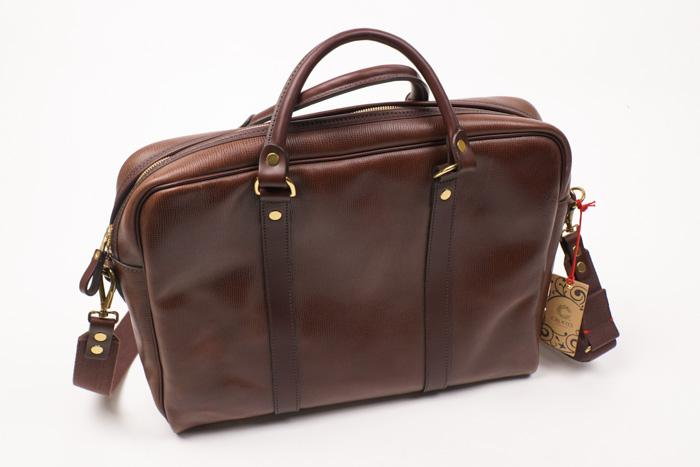 Leather Grain Laptop Bag