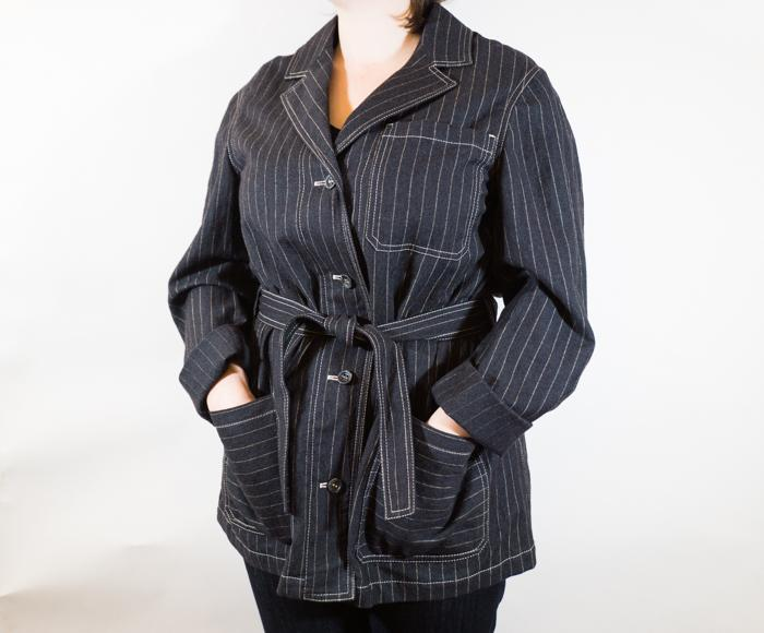 Factory Blazer Striped Women